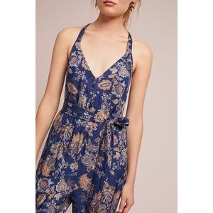 Anthropologie Pants - NEW Anthropologie PAISLEY JUMPSUIT